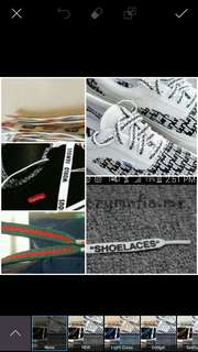 WTB street wear Shoelaces dm me!