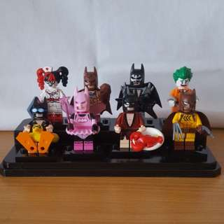 The Lego Batman movie minifigs bundle
