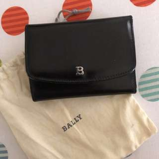 Authentic Bally - Patent Wallet