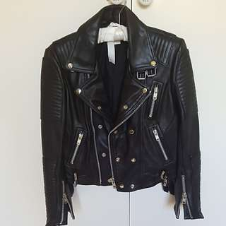 AJE BOWIE LEATHER JACKET