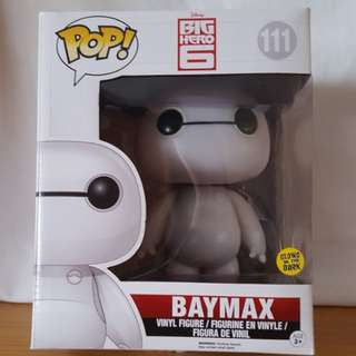 "Baymax 6"" glow in the dark funko Pop! Vinyl"