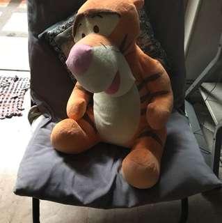 Big Tiger stuffed toy