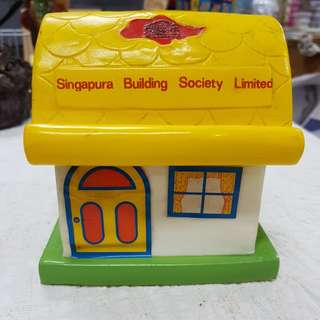 #0325 - Singapura Building Society Limited piggy Bank