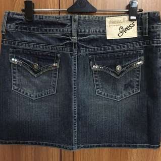 Guess Jeans Skirt with Crystal Details