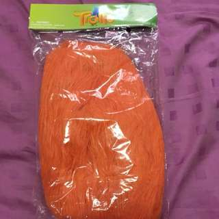 Orange Hair Wig Trolls Cosplay Samsonite
