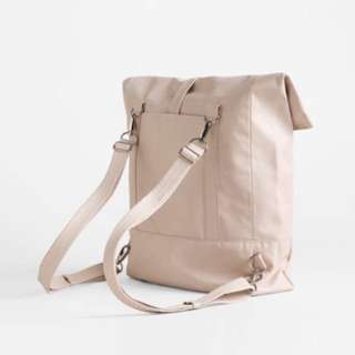 HOLIDAY DEAL! LEE COREN backpack in nude