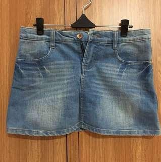 Mini Jeans Skirt