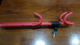 Reliable Preloved Car Steering Wheel lock