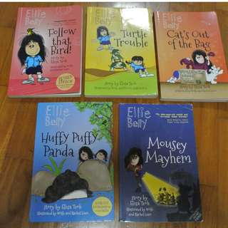 Ellie Belly story books for age 7-9