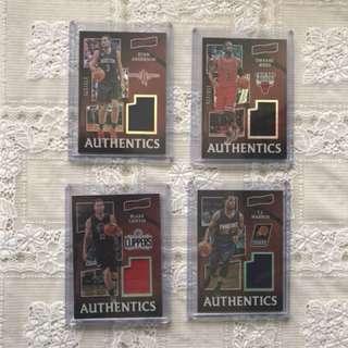 NBA Cards Aficionado Authentics