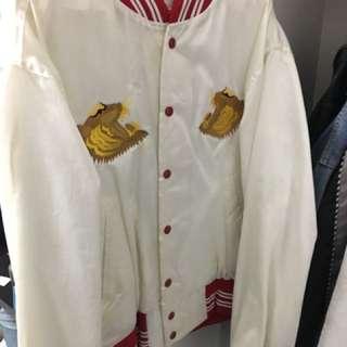 🚚 須橫日式刺繡老虎外套