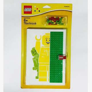 Lego Notebook with 24x6 baseplate and 72pcs letters/numbers (850686)