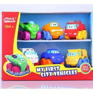 Brand new Mini Pull back Soft Squeeze toy vehicles