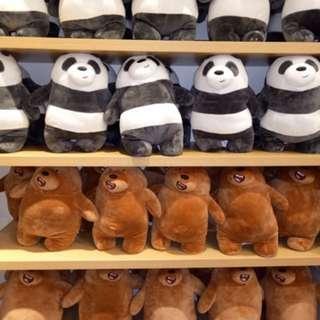 We Bare Bears Miniso