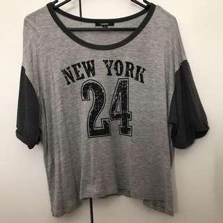 'New York 24' T shirt / Top