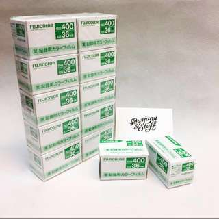 Fujicolor Industrial 400 35mm film