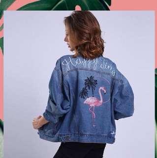 [NEW] Flamingo Jacket Jeans
