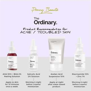 The Ordinary Products for Acne/Troubled Skin Concern