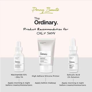The Ordinary Products for Oily Skin Concern