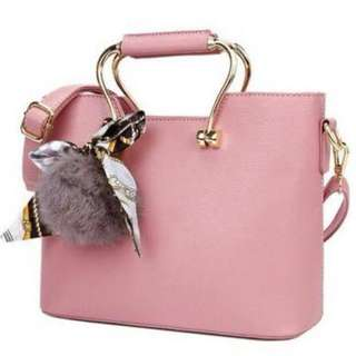 Stylish Bubblegum pink bag (strap inc)