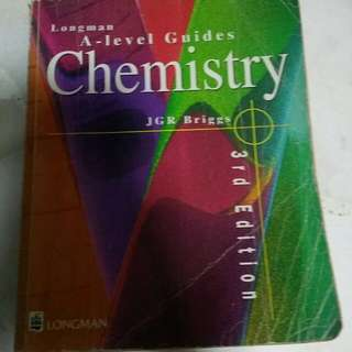 A Level H1 H2 Chemistry Reference books