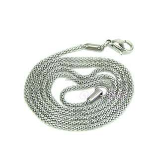 2mm Stainless Steel Necklace For Men And Women Snake Chain Silver #MidJan55