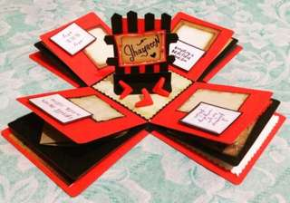 Explosion box / exploding box / gift box #13