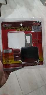 Car seatbelt block, for pregnant women