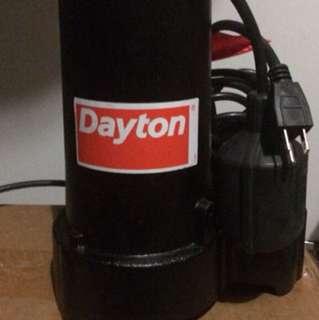 Dayton sump pump