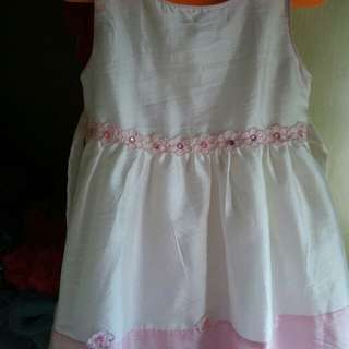 Dress Baby Broken White