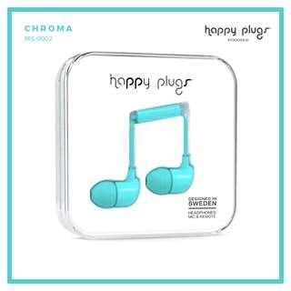 Happy Plugs In-Ear Headphones Turquoise