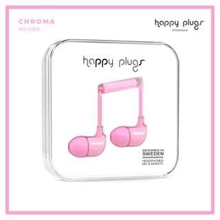 Happy Plugs In-Ear Headphones Pink