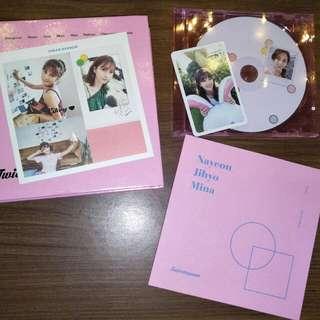 (Inc. Postage)Twicetagram Album with Jihyo Pc