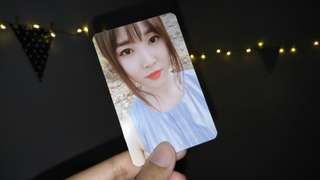 (Year End Sales) Yuju Parallel Official Photocard
