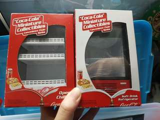 Coca Cola Miniature Collectible - Convenience Chain Series
