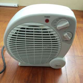 Fan of heater