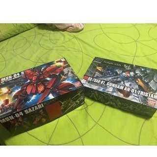 Combo Gundam set Tristan and sazabi (offer!!