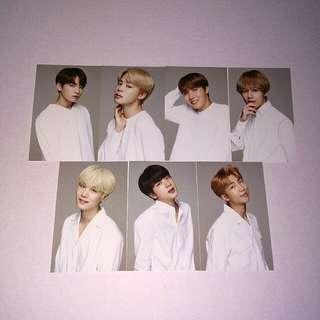 BTSxVT photocard