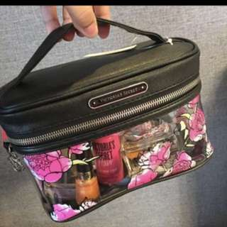 (Ready Stock)Victoria's Secret makeup Pouch cosmetic bag