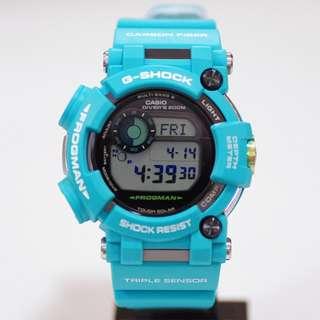 "Casio G-Shock Frogman 國際版 ""GWF-D1000MB-3DR""( G-SHOCK MASTER OF G FROGMAN 蛙王 /電波受信機能/TOUGH SOLAR/GWF-D1000MB-3)(可簽卡/可分期/現金交易)12/24"