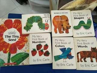 Eric Carle preloved books