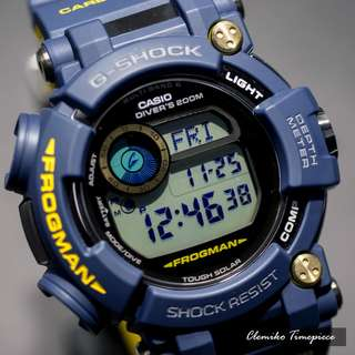 "Casio G-Shock Frogman 國際版 ""GWF-D1000NV-2DR""( G-SHOCK MASTER OF G FROGMAN 蛙王 /電波受信機能/TOUGH SOLAR/GWF-D1000NV-2)(可簽卡/可分期/現金交易)12/24"