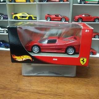 Ferrari F50 1:43 Hotwheels
