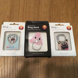 Mobile phone ring i-ring hook grip gift 手機固定環支架/小禮物