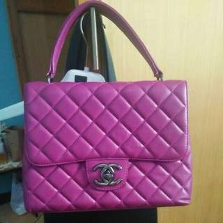 Tas Channel fuschia