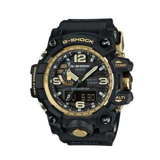 """Casio G-Shock MUDMASTER 國際版 """"GWG-1000GB-1ADR""""( G-SHOCK MASTER OF G  MUDMASTER 泥王 /電波受信機能/TOUGH SOLAR/GWG-1000GB-1A/1)(可簽卡/可分期/現金交易)12/24"""