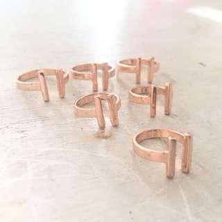 H&M 6pc. Ring Set