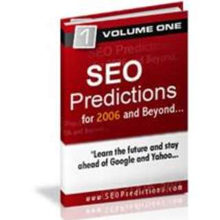 SEO Predictions: For 2006 And Beyond eBook