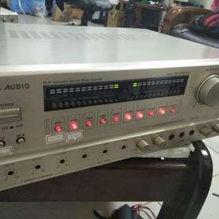 Hi Fi karaoke stereo amplifier 750w