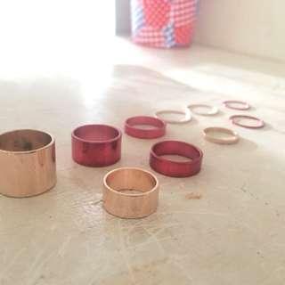 H&M 10 pc. Ring Set